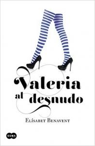 Portada de VALERIA AL DESNUDO (VALERIA #4)