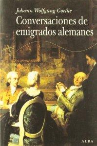 Portada de CONVERSACIONES DE EMIGRADOS ALEMANES