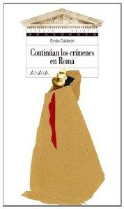 Portada de CONTINÚAN LOS CRÍMENES EN ROMA