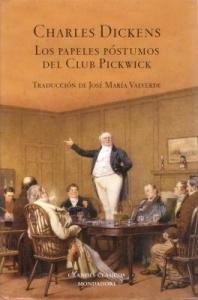 Portada de LOS PAPELES PÓSTUMOS DEL CLUB PICKWICK