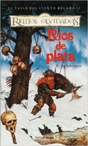 Portada de RÍOS DE PLATA (EL VALLE DEL VIENTO HELADO #2)